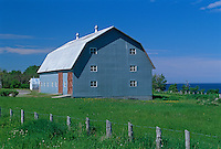 Barn  on Gaspe Peninsula<br /> Petite Matane<br /> Quebec<br /> Canada