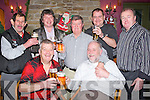 REGULARS: Regulars of the White Sands Hotel Bar, were over the moon as the 20912 aproachs and toast to the 2011 on Saturday night,. Front dseated l-r: Paddy Reilly and Thomas Duffy. Back l-r: Robert Kelly, Declan Crowe, Neilie Brouder, Mike Quill and Brendan Guerin.....