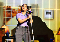 """SAN FRANCISCO, CALIFORNIA - NOVEMBER 8: Alessia Cara performs during the """"The Pains of Growing Tour"""" at The SF Masonic Auditorium on November 8, 2019 in San Francisco, California. Photo: imageSPACE/MediaPunch"""