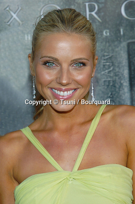 Ivana Bozilovic arriving at the Exorcist Premiere at the Chinese Theatre in Los Angeles. August 18, 2004.