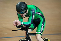Picture by Alex Whitehead/SWpix.com - 24/03/2018 - Cycling - 2018 UCI Para-Cycling Track World Championships - Rio de Janeiro Municipal Velodrome, Barra da Tijuca, Brazil - Ronan Grimes of Ireland competes in the Men's C4 Individual Pursuit qualifying.