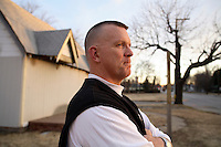 "Steve Whitaker, Pastor of the homeless mission, ""John 3:16"" in Tulsa, Oklahoma. His mission is the largest homeless charity in the city."