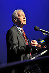 "Oct 4, 2012 - GARDEN CITY, NEW YORK U.S. - NY State Senator KEMP HANNON, speaks at new JetBlue Sky Theater Planetarium at Cradle of Aviation Museum. Nassau County students then watched ""We Are Astronomers"" a digital planetarium show. The planetarium, a state-of-the-art digital projection system, officially opens this weekend"