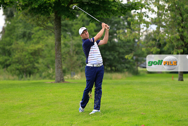 Ian Ellis (ENG) on the 15th fairway during Round 2 of the Northern Ireland Open in Association with Sphere Global &amp; Ulster Bank at Galgorm Castle Golf Club on Friday 7th August 2015.<br />
