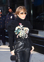 www.acepixs.com<br /> <br /> March 2 2017, New York City<br /> <br /> Actress Jennifer Lopez made an appearance at AOL Build on March 2 2017 in New York City<br /> <br /> By Line: Zelig Shaul/ACE Pictures<br /> <br /> <br /> ACE Pictures Inc<br /> Tel: 6467670430<br /> Email: info@acepixs.com<br /> www.acepixs.com