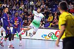 League ASOBAL 2017-2018 - Game: 14.<br /> FC Barcelona Lassa vs Helvetia Anaitasuna: 38-26.<br /> Ander Ugarte.