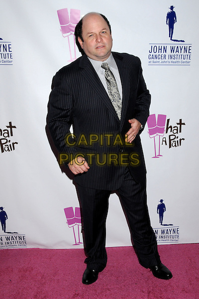 JASON ALEXANDER.'What A Pair! 7' Celebrity Concert to Benefit the John Wayne Cancer Institute held at The Broad Stage, Santa Monica, CA, USA..September 26th, 2009.full length black pinstripes suit .CAP/ADM/BP.©Byron Purvis/AdMedia/Capital Pictures.