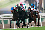 HONG KONG - DECEMBER 12:  M Hills riding 'Redwood' wins the Hong Kong vase race during the Cathay Pacific International Races at the Sha Tin Racecourse on December 12, 2010 in Hong Kong, Hong Kong. Photo by Victor Fraile / The Power of Sport Images
