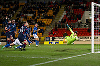 29th December 2019; McDairmid Park, Perth, Perth and Kinross, Scotland; Scottish Premiership Football, St Johnstone versus Ross County; Callum Hendry of St Johnstone comes close with a header late in the match - Editorial Use