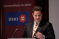 Montreal (QC) CANADA, October 10 2009-Jacques  L. Drouin, President  and CE), ProSep inc.<br /> adress the Canadian Club about the challenges in the upstream oil and gas industry and the increasiong role of new technologies.