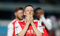 Fleetwood Town's Ashley Hunter at the end of the game<br /> <br /> Photographer Rob Newell/CameraSport<br /> <br /> The EFL Sky Bet League One - Gillingham v Fleetwood Town - Saturday 22nd April 2017 - MEMS Priestfield Stadium - Gillingham<br /> <br /> World Copyright &not;&copy; 2017 CameraSport. All rights reserved. 43 Linden Ave. Countesthorpe. Leicester. England. LE8 5PG - Tel: +44 (0) 116 277 4147 - admin@camerasport.com - www.camerasport.com