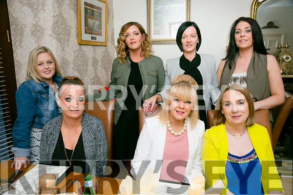Friends enjoying a night out on Saturday night at Bella Bia's  Front l-r  Elaine Riordan, Ann Riordan and Jennifer Conway. Back l-r Noreen Riordan, Gillian Riordan, Siobhan Riordan and Roisin Cashman Foley