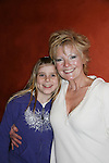 Ellen Dolan - As The World Turns poses with her daughter Angela as Ellen stars in The Body Shop on Dec. 18, 2009 as The Workshop Theater Company presents Cold Snaps at the Jewel Box Theatre, New York City, New York - Nine Short Plays to Warm the Warm December Night. (Photo by Sue Coflin/Max Photos)