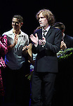 Richard Fleeshman & Glen Ballard.during the Broadway Opening Night Performance Curtain Call for  'GHOST' a the Lunt-Fontanne Theater on 4/23/2012 in New York City.