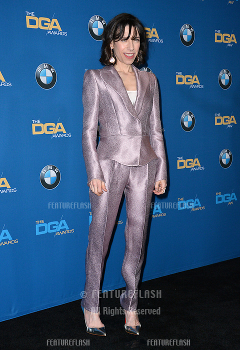 Sally Hawkins at the 70th Annual Directors Guild Awards at the Beverly Hilton Hotel, Beverly Hills, USA 03 Feb. 2018<br /> Picture: Paul Smith/Featureflash/SilverHub 0208 004 5359 sales@silverhubmedia.com