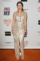 CENTURY CITY, CA, USA - MAY 02: Anna Trebunskaya at the 21st Annual Race To Erase MS Gala held at the Hyatt Regency Century Plaza on May 2, 2014 in Century City, California, United States. (Photo by Celebrity Monitor)
