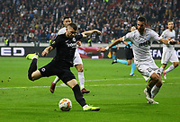 Ante Rebic (Eintracht Frankfurt) zieht ab - 25.10.2018: Eintracht Frankfurt vs. Apollon Limassol FC, Commerzbank Arena, Europa League 3. Spieltag, DISCLAIMER: DFL regulations prohibit any use of photographs as image sequences and/or quasi-video.
