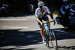 Kazakh Champion Alexey Lutsenko (KAZ) Astana Pro Team solos away from his breakaway companions as he climbs Col de la Lusette during Stage 6 of Tour de France 2020, running 191km from Le Teil to Mont Aigoual, France. 3rd September 2020.<br /> Picture: ASO/Pauline Ballet | Cyclefile<br /> All photos usage must carry mandatory copyright credit (© Cyclefile | ASO/Pauline Ballet)