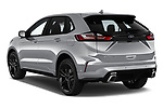 Car pictures of rear three quarter view of a 2019 Ford Edge ST Line 5 Door SUV angular rear