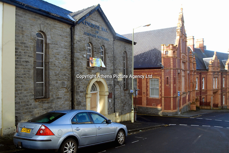 COPY BY TOM BEDFORD<br /> Pictured: Exterior view of Salem Chapel in Merthyr Tydfil, which was used by Jehovah's Witnesses<br /> Re: A cannabis factory with almost 800 plants has been discovered inside an iconic Merthyr Tydfil chapel which was being used by Jehovah's Witnesses.<br /> Unbeknown to nearby residents, the building on Newcastle Street - a prominent landmark in the town since it was built in 1856 - was housing 769 cannabis plants.