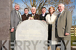 OFFICIAL OPENING: The ORegan family at the official opening of Bracker ORegan Road on Friday by Dick Roche, Minister for Environment, Heritage and Local Government. L-r: Tommy, Denis, Minister Dick Roche, Martin, Mary and Jimmy ORegan.