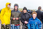 Helen O'Shea, Padraig Hurley, Bernadette Coffey and Cameron Murnane at the Rossbeigh races on Sunday