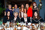 Enjoying Women's Christmas at the Ashe Hotel, Tralee on Saturday night last were front l-r: Jennifer Looby, Stella Boyle, Mary Devane and Dympna Houston. Back l-r: Mary Looby, Christabel Quirke, Deirdre Boyd, Martina Quirke and Amy Kennelly.