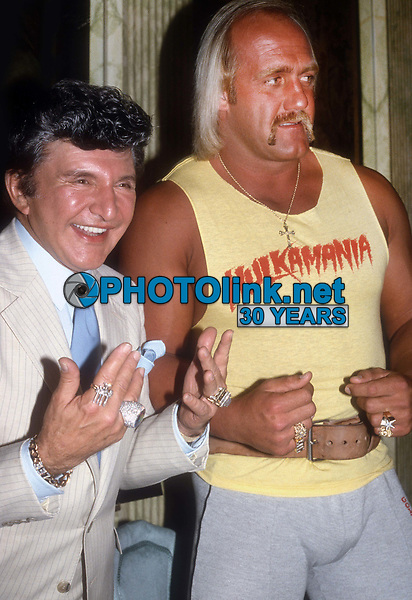 Liberace Hulk Hogan 1985<br /> Photo By Adam Scull/PHOTOlink.net