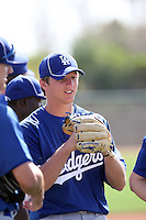 Ethan Martin, Los Angeles Dodgers 2010 minor league spring training..Photo by:  Bill Mitchell/Four Seam Images.
