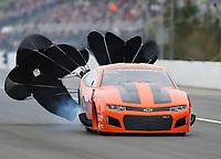 Mar 17, 2019; Gainesville, FL, USA; NHRA pro mod driver Jose Gonzalez during the Gatornationals at Gainesville Raceway. Mandatory Credit: Mark J. Rebilas-USA TODAY Sports