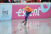 SCHAATSEN: BOEDAPEST: Essent ISU European Championships, 08-01-2012, 5000m Ladies, Linda de Vries NED, ©foto Martin de Jong