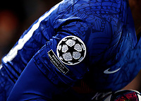 25th February 2020; Stamford Bridge, London, England; UEFA Champions League Football, Chelsea versus Bayern Munich; Arm patch with Winners 2019 UEFA Europa League worn by Willian of Chelsea
