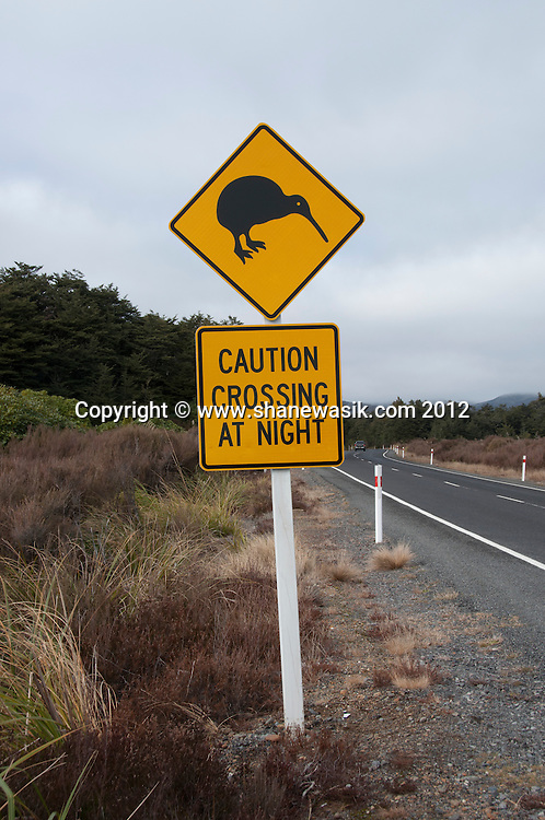 Tongariro Crossing During Winter including Mount Tongariro, Mount Ngauruhoe, Ketetahi Hut.