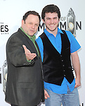 Jason Alexander and son at The .Book of Mormon Opening Night held at The Pantages Theatre in Hollywood, California on September 12,2012                                                                               © 2012 Hollywood Press Agency