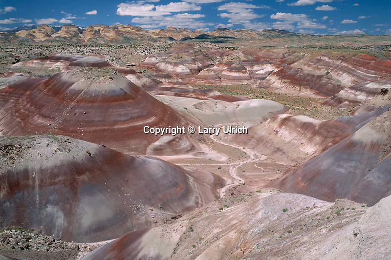 Bentonite Hills and Capitol Reef<br />