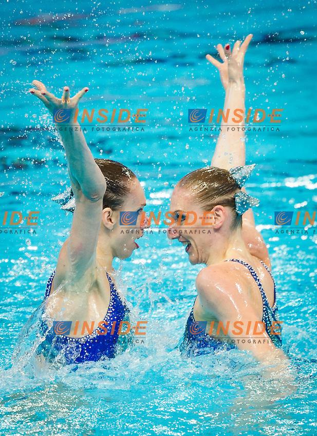 RUS - Russian Federation<br /> ISHCHENKO Natalia<br /> ROMASHINA Svetlana<br /> Duet Free Preliminary<br /> Day5 28/07/2015<br /> XVI FINA World Championships Aquatics<br /> Synchro<br /> Kazan Tatarstan RUS July 24 - Aug. 9 2015 <br /> Photo Pasquale Mesiano/Deepbluemedia/Insidefoto