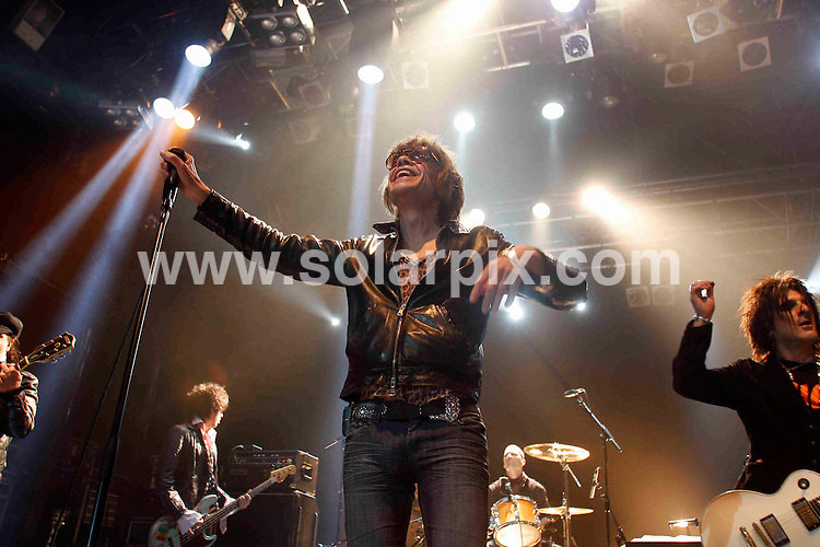**ALL ROUND PICTURES FROM SOLARPIX.COM**.**WORLDWIDE SYNDICATION RIGHTS**.The New York Dolls perfom live at the Koko Club in London, UK. 19 April 2010. ..This pic: The New York Dolls..JOB REF: 11116  LNJ     DATE: 19_04_2010.**MUST CREDIT SOLARPIX.COM OR DOUBLE FEE WILL BE CHARGED**.**MUST NOTIFY SOLARPIX OF ONLINE USAGE**.**CALL US ON: +34 952 811 768 or LOW RATE FROM UK 0844 617 7637**