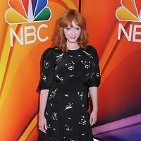 13 May 2019 - New York, New York - Christina Hendricks at the NBC 2019/2020 Upfront, at the Four Seasons Hotel.       <br /> CAP/ADM/LJ<br /> ©LJ/ADM/Capital Pictures
