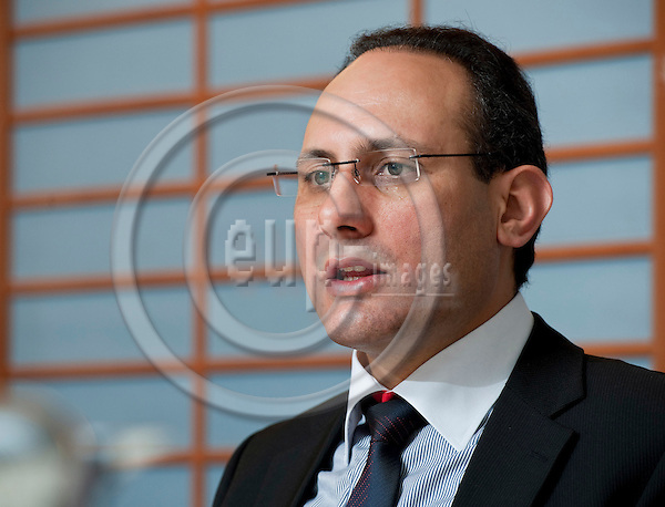 Brussels-Belgium, October 10, 2011 -- MEP Ismail ERTUG from Germany (DE/SPD), member of the Group of the Progressive Alliance of Socialists and Democrats (S&D) in the European Parliament and i.a. of the Committee on Transport and Tourism -- Photo: Horst Wagner / eup-images