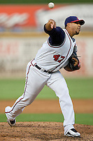 Bazardo, Yorman 4080.jpg.  PCL baseball featuring the Tacoma Rainers at Round Rock Express at Dell Diamond on August 5th 2009 in Round Rock, Texas. Photo by Andrew Woolley.