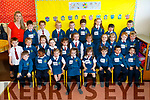Ms Carmel Broderick's class of Junior Infants on their first day of School at Scoil Eoin Balloonagh NS on Wednesday.<br /> Front row from left: Ryan Houlihan, Clinton Yasuf, Sophie Pigott, Alexis Gaynor, Aoife Flanagan, Harry Collins, Bendeguz Geiger, Fionn Kennelly. <br /> Middle row: Ben O'Leary, Jimmy Donaghy, Alexis Gaynor, Aideen Dennehy, Ava O'Donoghue, Julie Kelly, Donnacha O'Brien, Ria Hogan Byrne, Nikola Sampolska, Ois&iacute;n Nolan, Shane Costello. <br /> Back row: Michael Wrenn, Daragh Murphy, Mia Nalewaja, Rian McCoy, Darragh Magnier, Eva Veremejenko, Lauren Alcantara, Adam Horan