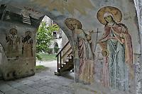 BG51464.JPG BULGARIA, BATCHKOVO MONASTERY, CHURCH OF SVETA-BOGORODITSA , 1604, frescoes