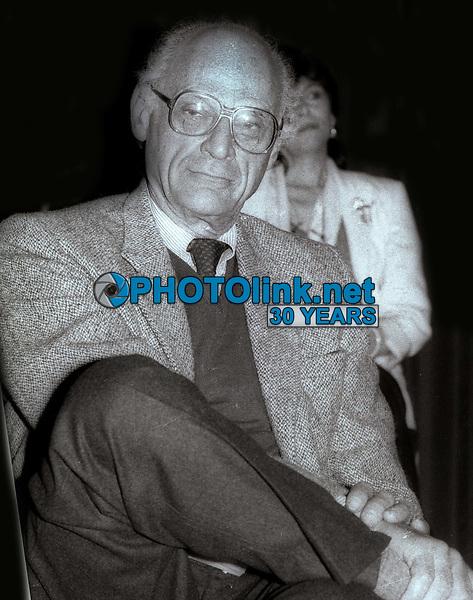 Arthur Miller 1984<br /> Photo By Jesse Nash/PHOTOlink