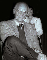 Arthur Miller 1984<br /> Photo By Jesse Nash/PHOTOlink