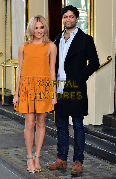 LONDON, ENGLAND - JANUARY 28: Pixie Lott (Victoria Louise &quot;Pixie&quot; Lott), Charlie De Melo  attends photocall as she prepares to make her West End acting debut as Holly Golightly in Truman Capote's classic &quot;Breakfast at Tiffany&rsquo;s&quot;, adapted by Richard Greenberg at Theatre Royal on January 28, 2016, London, England<br /> CAP/JOR<br /> &copy;JOR/Capital Pictures
