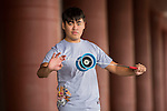 Lu Yu Cheng poses for a portrait ahead the Red Bull PAO 2015 at the National Taiwan Science Education Centre in Taipei, Taiwan. Photo by Aitor Alcalde / Power Sport Images