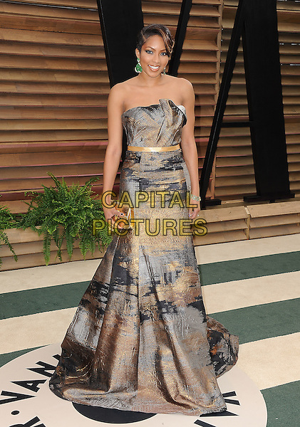 WEST HOLLYWOOD, CA - MARCH 2: Alicia Quarles arrives at the 2014 Vanity Fair Oscar Party in West Hollywood, California on March 2, 2014. <br /> CAP/MPI/MPI213<br /> &copy;MPI213 / MediaPunch/Capital Pictures