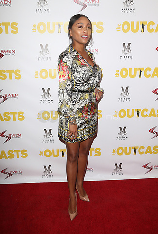 "WESTWOOD, CA - April 13: Rachel Currence, At Premiere Of Swen Group's ""The Outcasts"" At The Landmark Regent  In California on April 13, 2017. Credit: FS/MediaPunch"