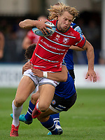 Gloucester Rugby's Billy Twelvetrees in action during todays match<br /> <br /> Photographer Bob Bradford/CameraSport<br /> <br /> Gallagher Premiership - Bath Rugby v Gloucester Rugby - Saturday September 8th 2018 - The Recreation Ground - Bath<br /> <br /> World Copyright &copy; 2018 CameraSport. All rights reserved. 43 Linden Ave. Countesthorpe. Leicester. England. LE8 5PG - Tel: +44 (0) 116 277 4147 - admin@camerasport.com - www.camerasport.com