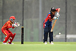 Rubina Chhetry Belbashi of Nepal in action during their ICC 2016 Women's World Cup Asia Qualifier match between China and Nepal  on 11 October 2016 at the Kowloon Cricket Club in Hong Kong, China. Photo by Marcio Machado / Power Sport Images